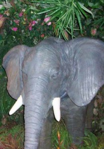 cute fake elephant